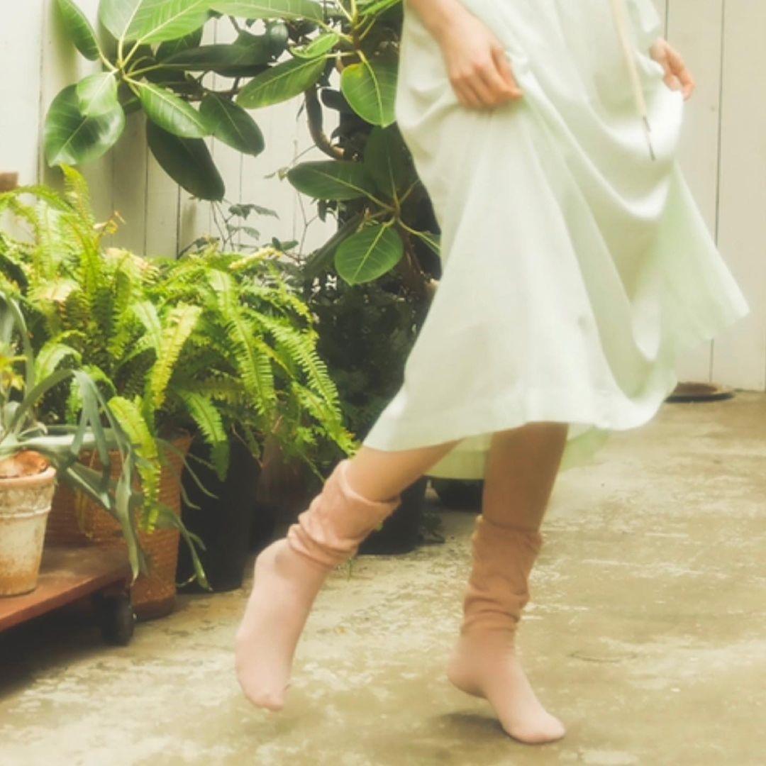ソックス/足首ふんわりタオルタッチ靴下