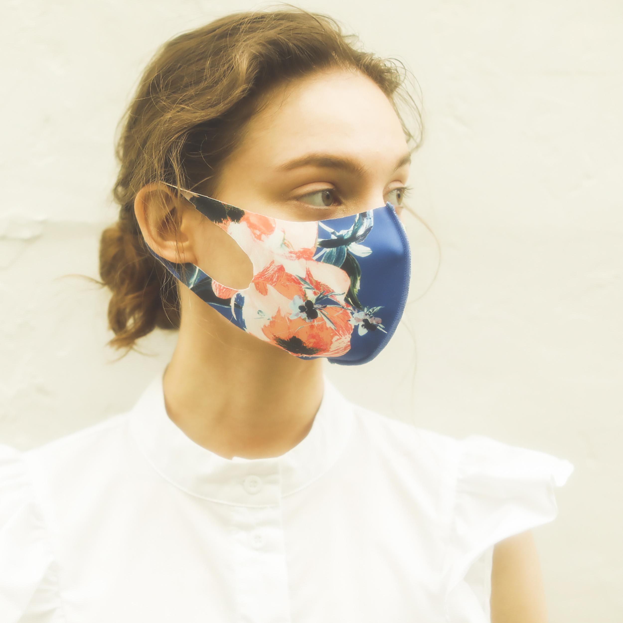マスク/ペインティングフラワー